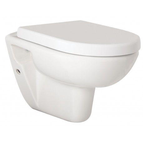 OLSEN SPA WC sedátko SPLASH SOFT CLOSE s podtlačou 37,3 x 44,5 x 5 cm