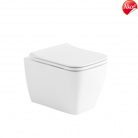 OLSEN SPA NOVA závesné RIMLESS WC 34,5 × 51 × 32 cm (š × h × v) so sedadlom Soft-close